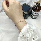 Rose Quartz Gemstone Bracelets For Women Sterling Silver 925 Jewelry Rose Gold