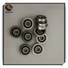10Pcs F695-2RS Bearing 5*13*4 mm  ABEC-7 Flanged Miniature F695 RS Ball Bearings