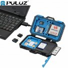 Card Reader+22 in 1 Waterproof Memory /SD Card Case Storage Box for 1Standard
