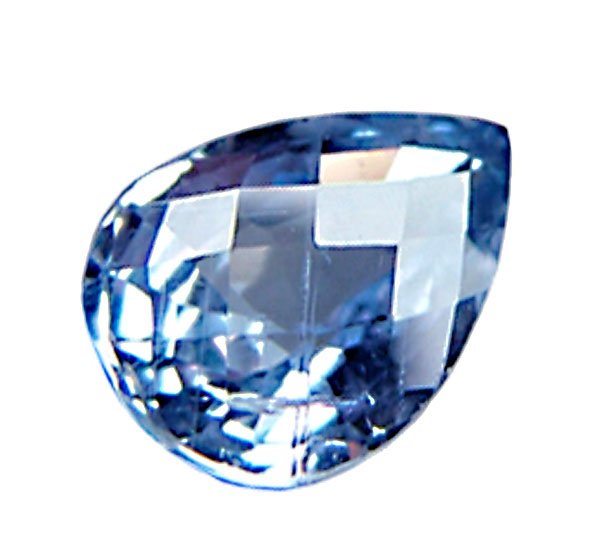 1.14 ct. Sapphire, Color Change Blue to Pink Pear Faceted Natural Gemstone Ceylon