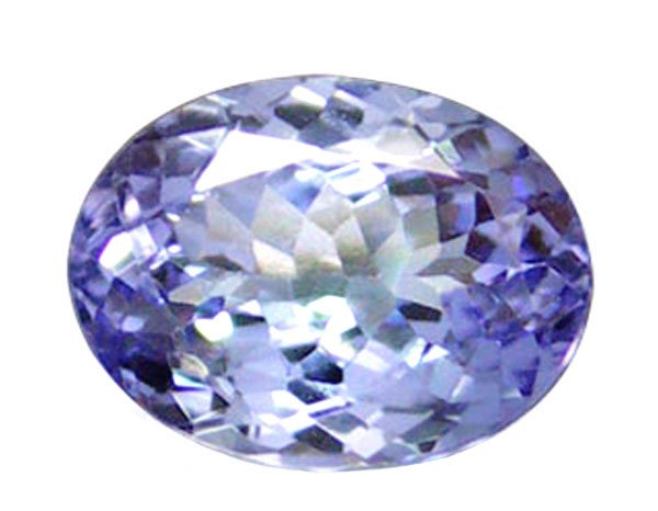 SOLD 1.51 ct. Tanzanite, VVS1, 8x6, Light Purple, Oval Faceted Natural Gemstone