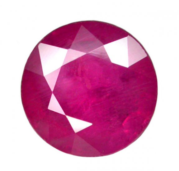 HOLD 1.48 ct. Ruby, Pinkish Red, Round Faceted Natural Gemstone