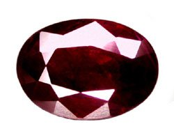 1.01 ct. Ruby, Pigeon Blood Red, Oval Natural Gemstone