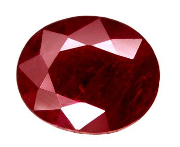 SOLD 1.09 ct. Ruby, Pigeon Blood Red, Oval Faceted Natural Gemstone, Madagascar