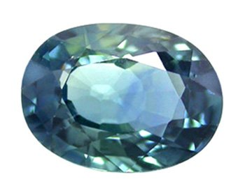 SOLD ? 1.04 ct. Sapphire, Greenish Blue, VVS1 Oval Faceted Natural Gemstone, Ceylon