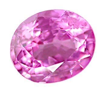 sold 0.72 ct. Sapphire, Violet Pink, Oval Faceted Natural Gemstone, Ceylon