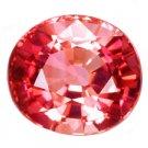 1.17 ct. Tourmaline, Rose Pink Multi Color, VVS Oval Faceted Gem