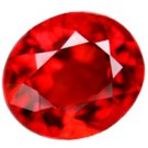 1.13 ct. Ruby, Sparkling Rich Red, IF-VVS1 Oval Facet, Songea