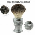 Black Badger Hair Wet Shaving Brush - Professional Barber Salon Tool