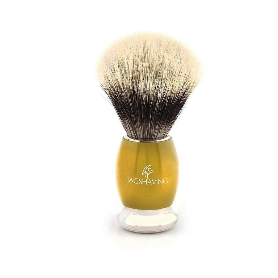Best Quality Silver Tip Badger Hair Shaving Brush With Brass Handle