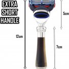 Premium Quality Fusion Razor with Short Handle Best for Close Shave