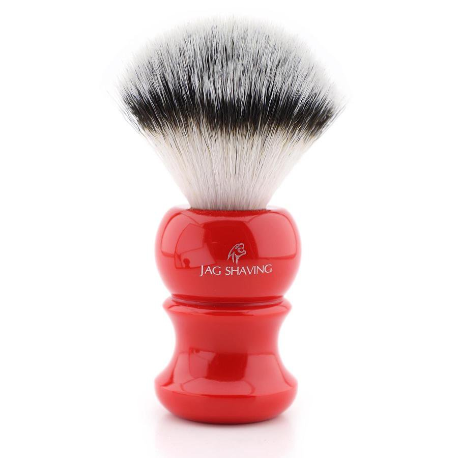 Resin Handle Shaving Brush with Synthetic Hair for Perfect Wet Clean Shave