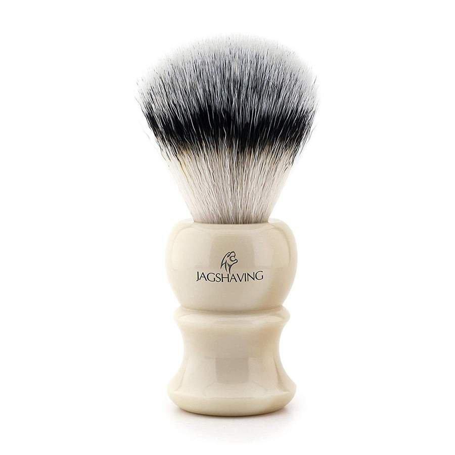 Classics Men Shaving Brush With Ivory Replica Handle