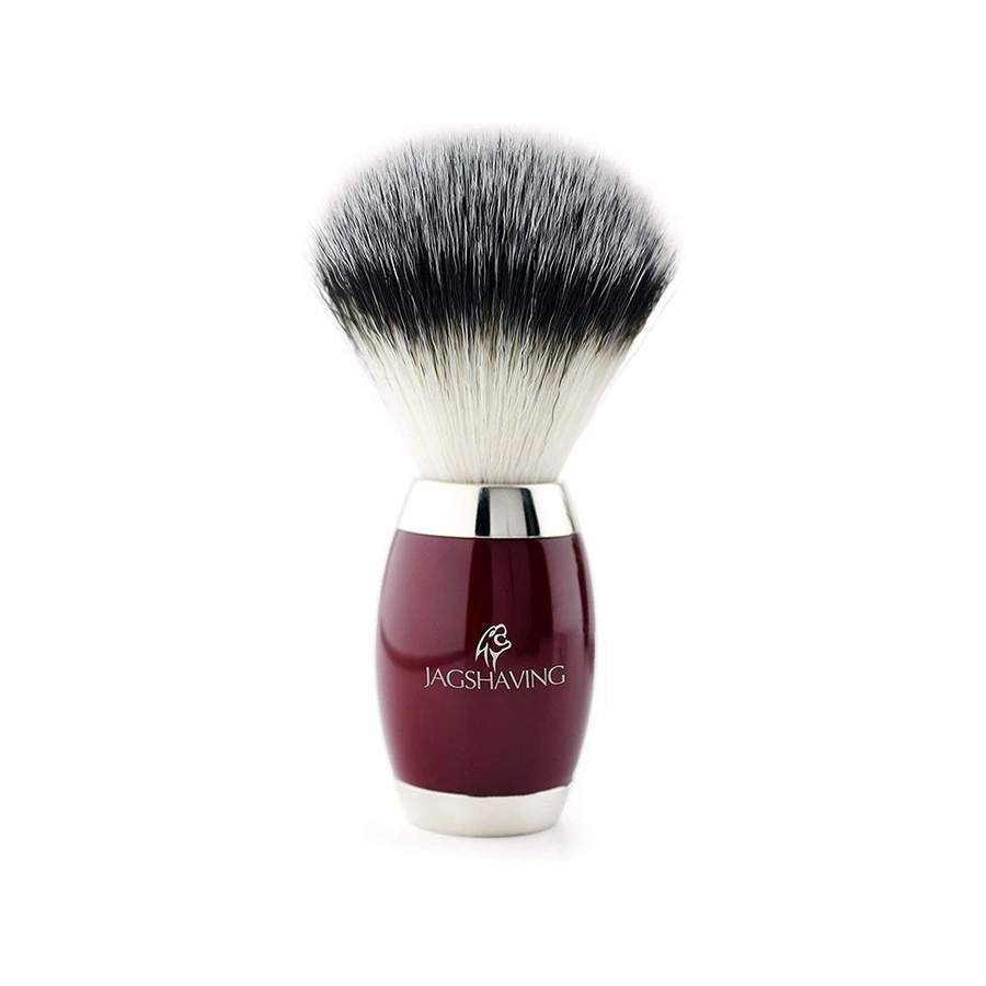 Classic Synthetic Hair Shaving Brush with Brass Handle