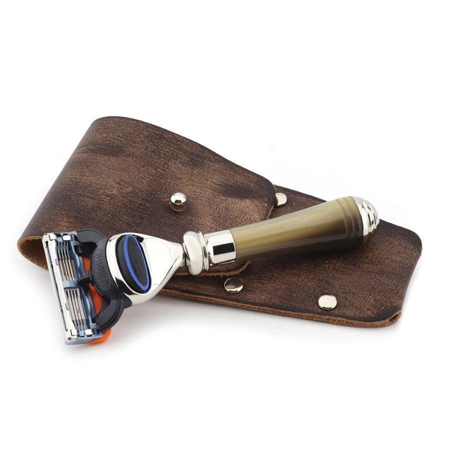 Classic Fusion Shaving Razor with Resin Handle Best Gift Idea