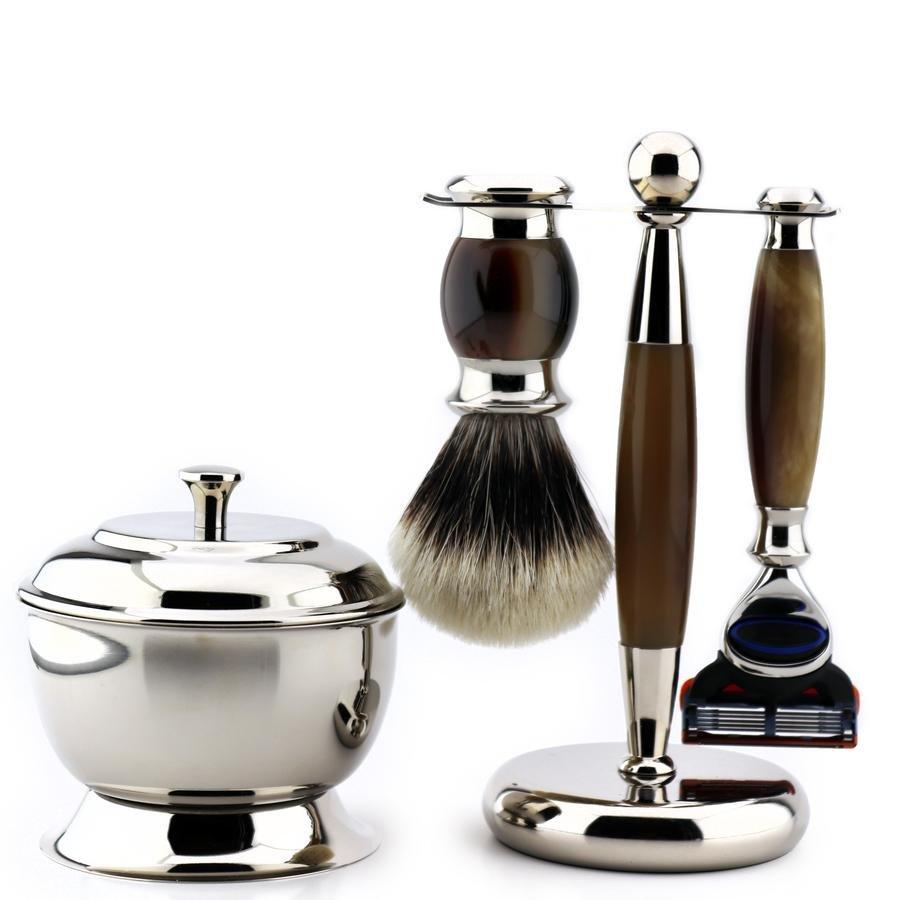 Men Classic Luxury Shaving Gift Set, Best For Men Shave, Top Quality Shaving Material