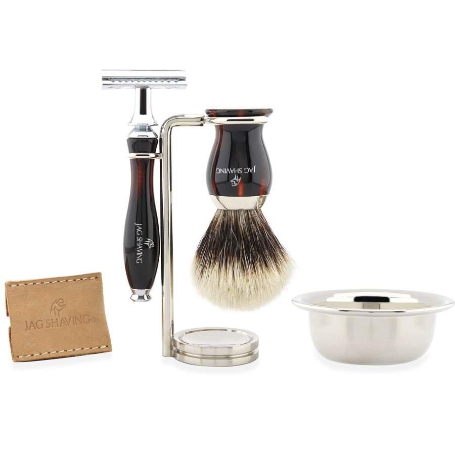 Premium Quality Shaving Kit, With Resin Handle, Gift for Men