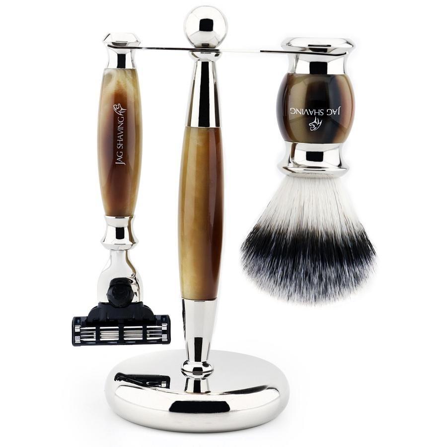 Stunning 3 Pcs Shaving Kit Best For Homemade Shave