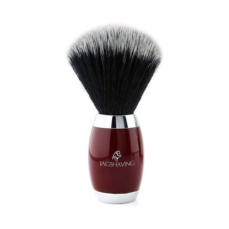 Synthetic Black Hair Shaving Brush with Brass Handle