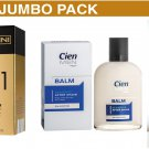 Cien sensitive after shave Balm 100ml + G Bellini No.1 EDT 50ml + CIEN Men 2-blade razor inc 20