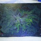 """Original Abstract- Ref 167,  11x14"""" Painting on Stretched Canvas Acrylic Pour by L Baber Ref 167"""