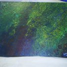 """Original Abstract- Ref 169,  11x14"""" Painting on Stretched Canvas Acrylic Pour by L Baber Ref 169"""