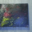 """Original Abstract- Ref 180,  16x20"""" Painting on Stretched Canvas Acrylic Pour by L Baber Ref 180"""
