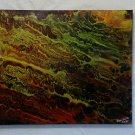 """Original Abstract- Ref 192,  16x20"""" Painting on Stretched Canvas Acrylic Pour by L Baber Ref 192"""