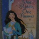 ONE RIDDLE ONE ANSWER Lauren Thompson Linda S Wingerter Lovely Illustrations Math Mathematical Tale
