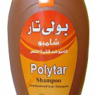 2Pack Polytar Hair Shampoo Anti Dandruff Itch Scalp Cleanser Eczema Psoriasis Lice 125ml (Each Pack)