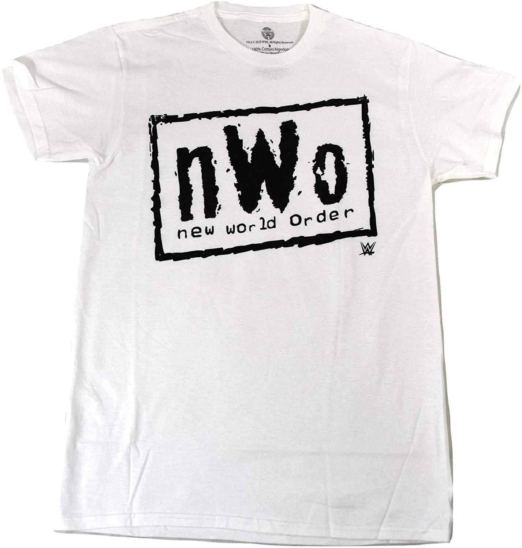 Size M - WWE Official Product nWo New World Order Logo Adult Unisex T-Shirt