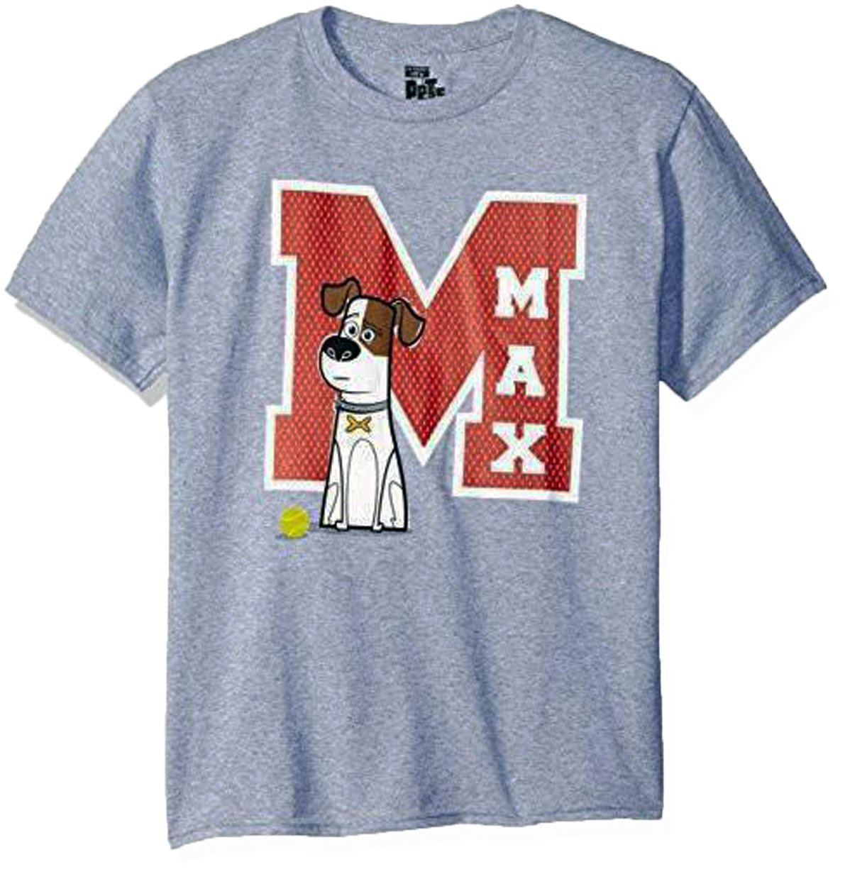 Size L - The Secret Life of Pets Max Youth's T-Shirt