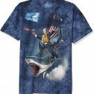 Size S - The Mountain Dubya Shark-S Adult T-Shirt