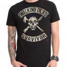 Size 2XL -  AMC Show Walking Dead Survivor Mens T-Shirt