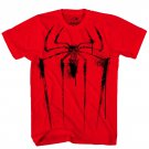 Size XL - The Amazing Spider-Man Black Spider Men's T-Shirt