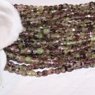 Czech Fire Polished MOSS GREEN 3mm Beads   q. 50