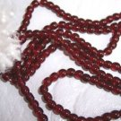 3mm Round Czech Glass Garnet 200 pack