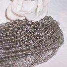 BLACK DIAMOND Czech Fire Polished 4mm Beads Q.50