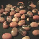 RHODONITE Cabochons 18x13 mm (2)