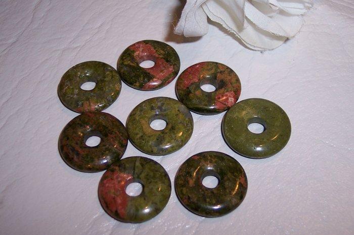 UNAKITE Donut Bead 20mm