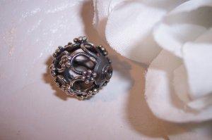 Sterling Silver GENUINE BALI Large Filigree Bead #1
