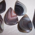 BOTSWANA AGATE Freeform Focal Bead