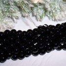 BLACK ONYX 8mm Round Beads