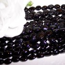 BLACK ONYX 7x9mm Oval Beads