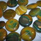 CARNELIAN Lg Round Focal Beads MUST SEE!!