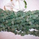 "AVENTURINE (Green)Chips 36"" strand"