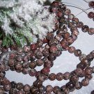 "LEOPARDSKIN JASPER 6mm Round Beads 16"" strand"