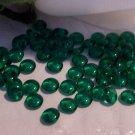 EMERALD GREEN Czech 4mm Rondell Beads  100pcs