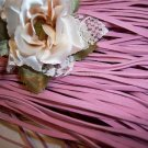 FAUX SUEDE Cord 1mm PINK 5 Meters