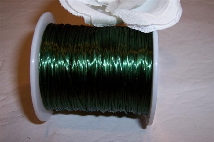 ELASTIC CORD 30meters DARK GREEN
